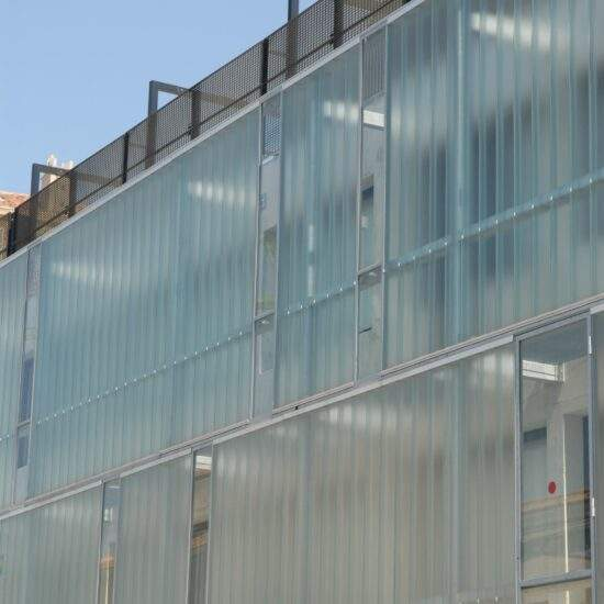 Collège HQE Euroméditerranée Jean-Claude Izzo Marseille