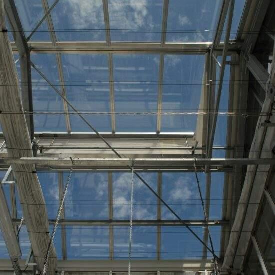 Construction de serres CIRAD Montpellier