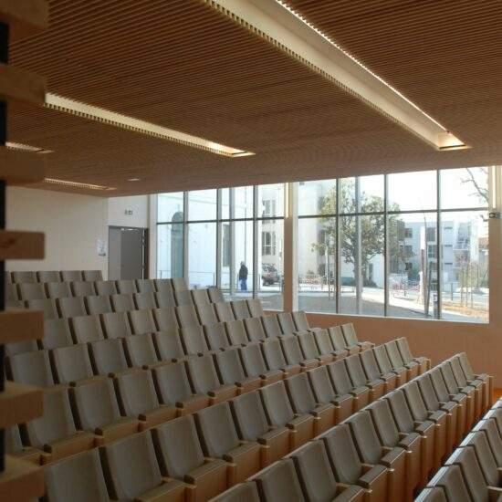 Bâtiment d'accueil centre gérontologique Le Garlaban Marseille